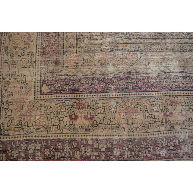"Antique Persian Kerman Carpet - 9' X 13'1"" - Image 9 of 10"