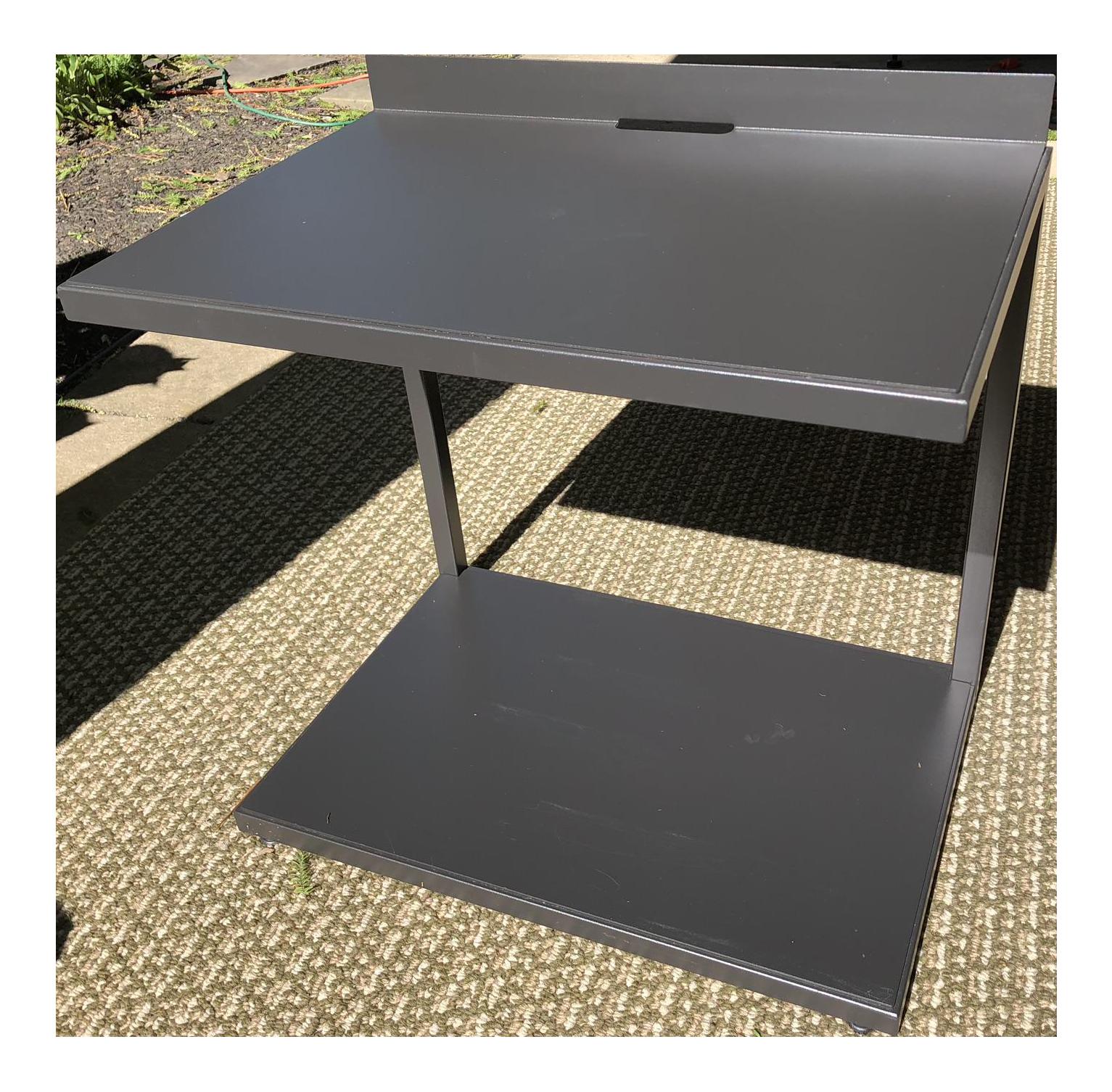 Crate U0026 Barrel Industrial Side Table