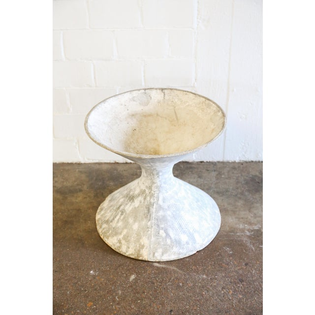 Image of White Hourglass Planter