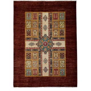 """New Oushak Hand Knotted Area Rug - 5'9"""" x 7'8"""""""