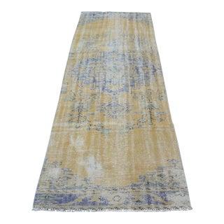 Handmade Anatolian Antique Runner Rug - 3′ × 9′1″