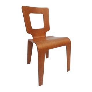 Thaden Jordan Mid-Century Bentwood Birch Chair