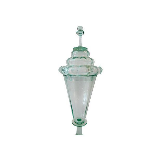 Image of Bohemian Cabinet Glass Goblet & Cover