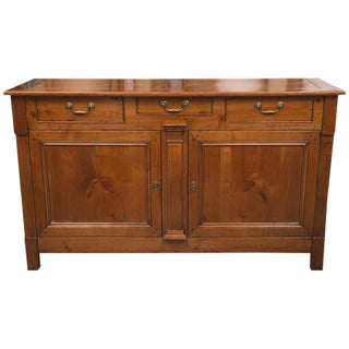French Directoire Style Cherrywood Buffet