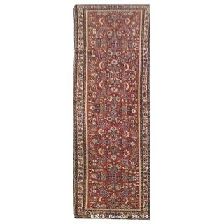 Vintage Persian Tabriz Rug - 3'5'' x 13'8''