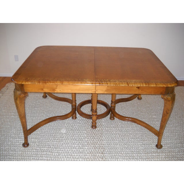 French Provincial Solid Oregon Maple Dining Set - Image 2 of 11