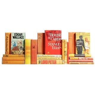 Orange & Yellow Mystery Novels - Set of 21