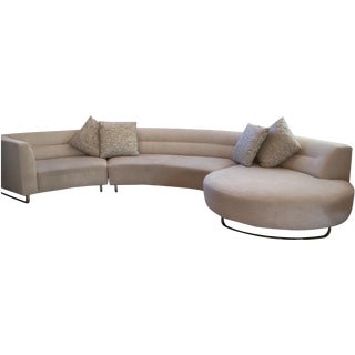 Unique Modern Curved Sectional