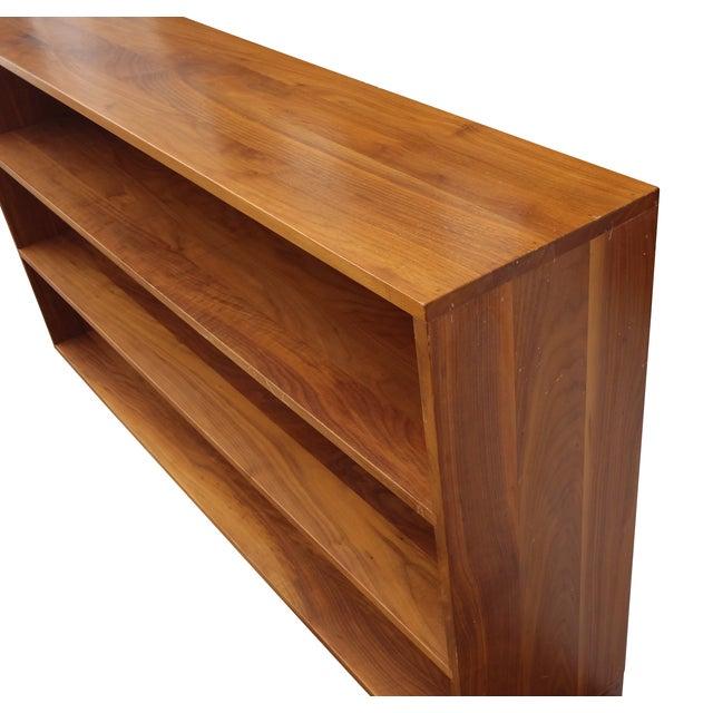 Solid Walnut Studio Bookshelf - Image 10 of 10