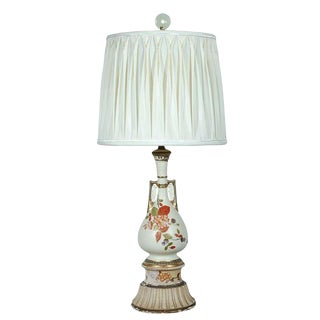 Decorative Table Lamp with Silk Shade
