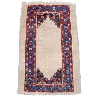 Antique Persian Bakhshaish Rug w/ Minimalist Design