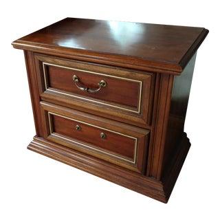 Bassett Two Drawer Nightstand