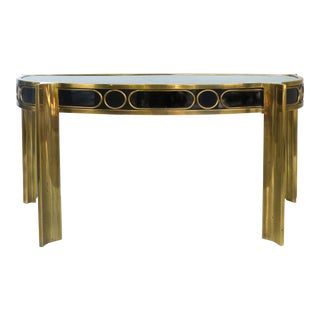 Mid-Century Modern Mastercraft Console Table
