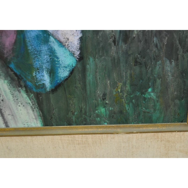 Vintage Painting After Picasso C.1970 - Image 6 of 7