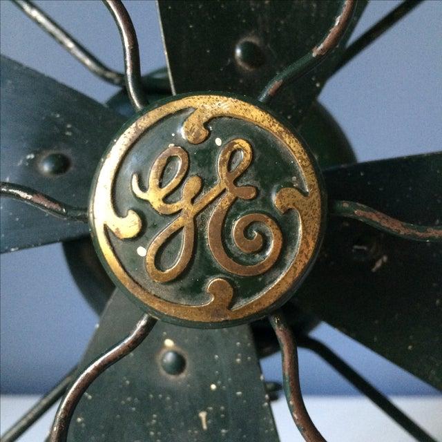 Vintage GE Industrial Table Fan - Image 3 of 10
