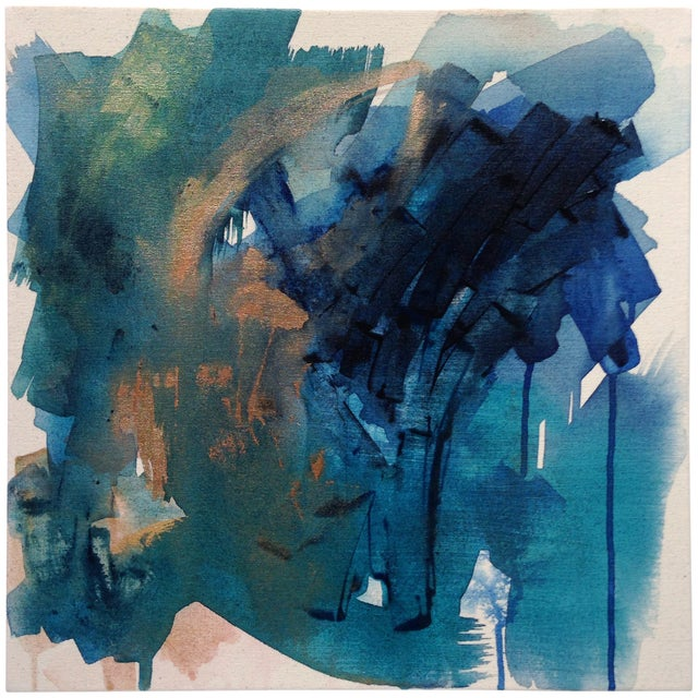 Dani Schafer Then We Woke Up Abstract Painting - Image 1 of 6