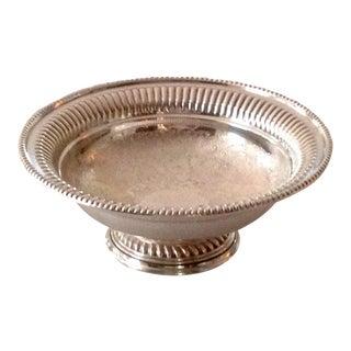 Barker-Ellis Silver Plate Footed Bowl