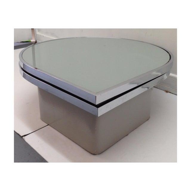 Image of Milo Baughman Teardrop Swivel Table