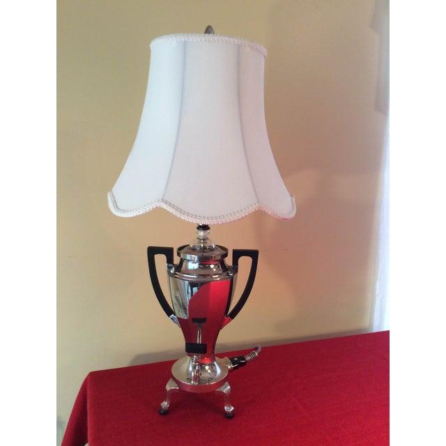 Early 20th-Century Percolator Lamp - Image 2 of 8