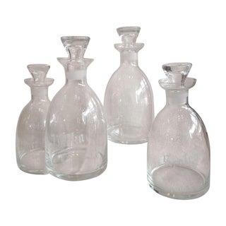 Vintage Decanter Set - Set of 4