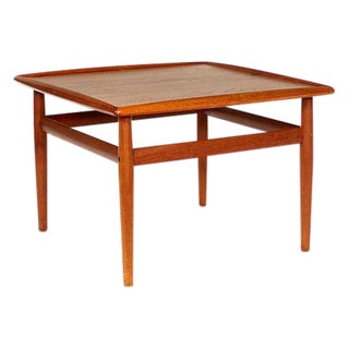 1960s Danish Teak Side Table