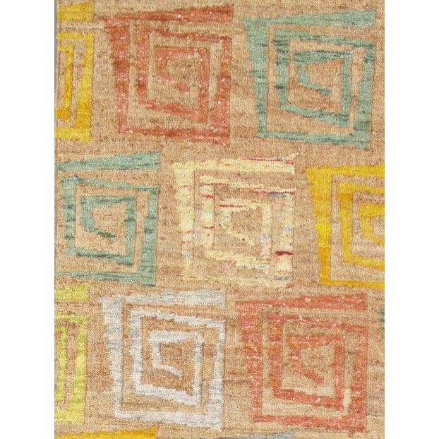 Pasargad's Hemp & Sari Silk Sumak Kilim - 5' x 8' - Image 3 of 4