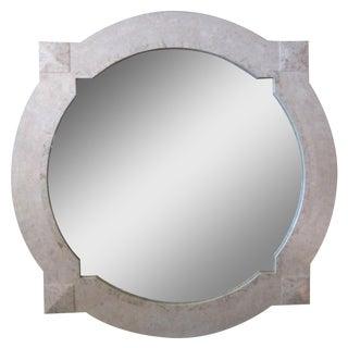 Mid-Century Tessellated Stone Mirror