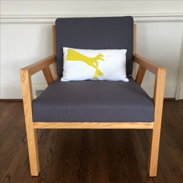 Gus Modern Truss Chair - Image 2 of 5