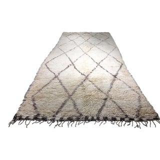 """Bellwether Rugs Organic Wool Beni Orin Moroccan Rug - 7'4""""x15'7"""""""