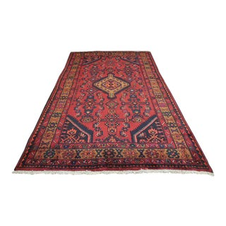 "Antique Persian Bijar Rug 4'5"" x 7'2"""