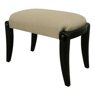 Custom Upholstered Foot Stool