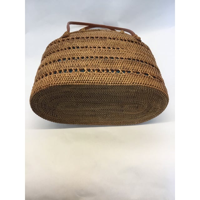 Carved Exotic Balinese Handbag - Image 6 of 6