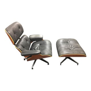Herman Miller Lounge Chair + Ottoman