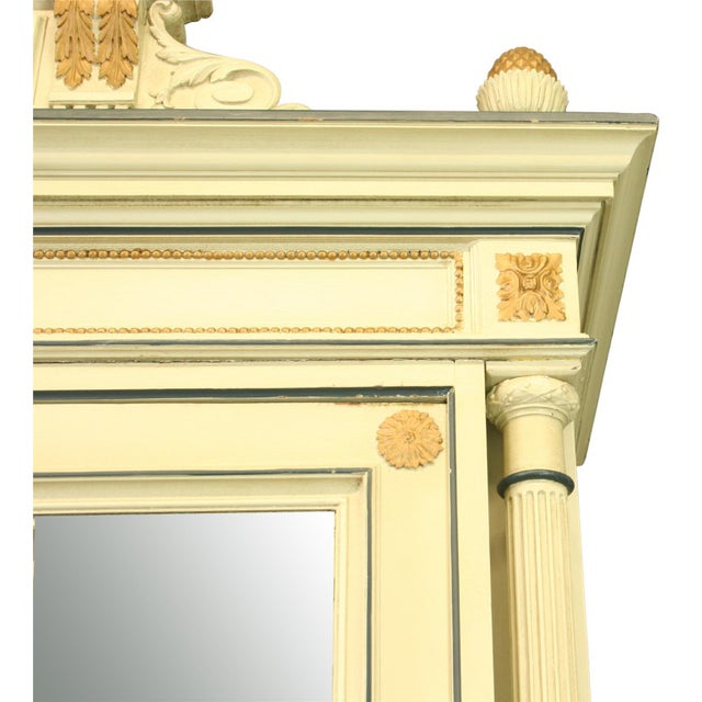 Image of Antique French Louis XVI Painted Armoire