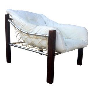 Jean Gillon Brazilian Rosewood & Chrome Chair