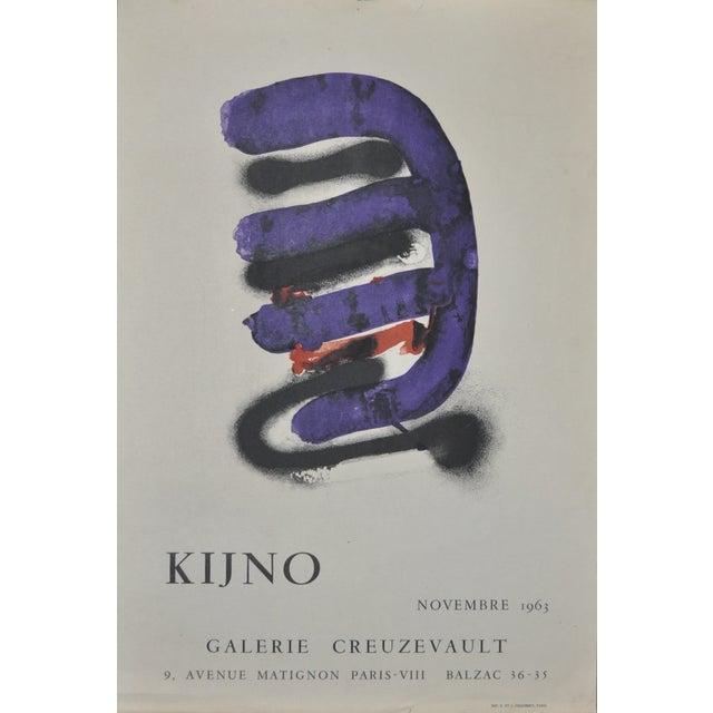 Image of Ladislas Kijno Gallery Exhibit Lithograph C.1963