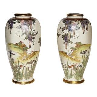 Japanese Vases - A Pair