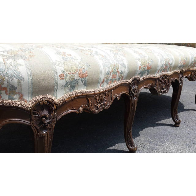 Antique French Louis XV Style Settee - Image 3 of 5