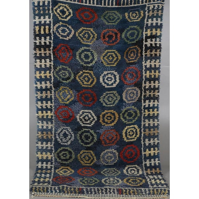 Image of Handmade Swedish Rya Rug