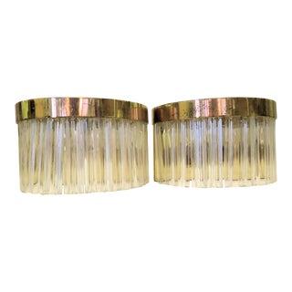 Italian Murano Glass Sconces - a Pair