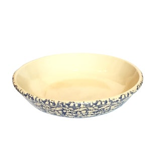 Robinson Ramsbottom Blue Spongeware Serving Bowl