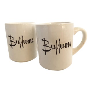 Vintage Buffums Dept. Store Tea/Coffee Mugs