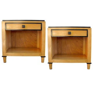 Wooden Side Tables by Kimball Hospitality - Pair