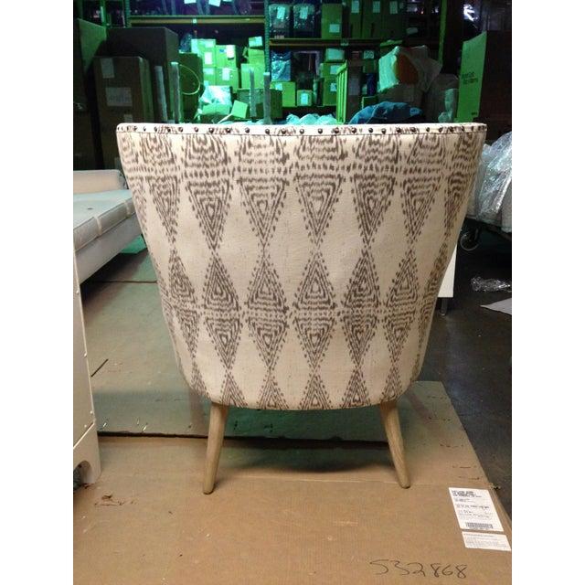 Hardword Frame Lounge Chair - Image 6 of 8
