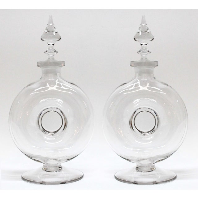 Art deco donut decanters a pair chairish for Deco 90 fut 18