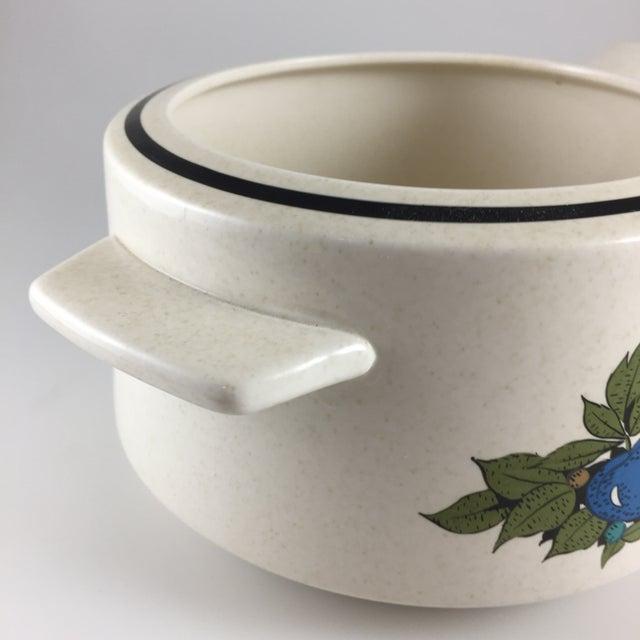 Fall Bounty Stoneware Open Fondue Pot - Image 5 of 10