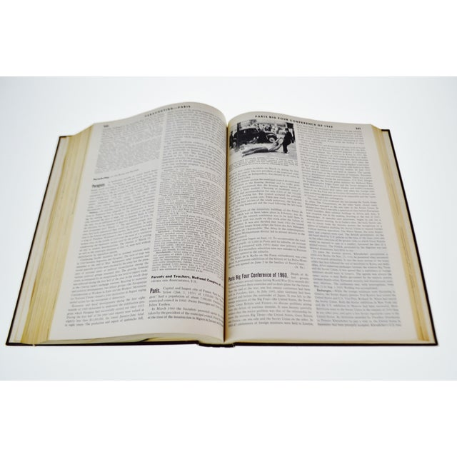 1961 - 1976 Britannica Book Of The Year Leather Bound Books - S/16 - Image 8 of 11
