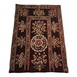 Antique Uzbek Suzani Textile