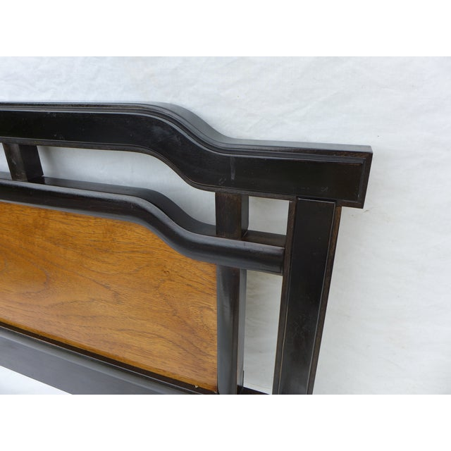 Thomasville Asian Inspired Queen Size Headboard - Image 4 of 7