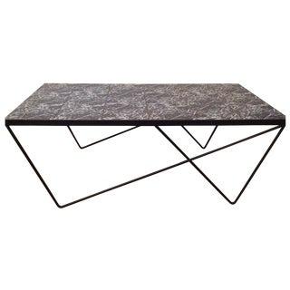 Modernist Asymmetical Tile Table